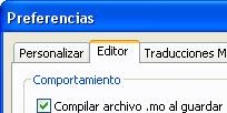 Compilar archivo .mo
