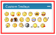 Custom Smileys Manager