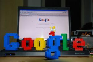 Logo Google con Lego
