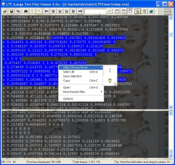 Captura de Large Text File Viewer