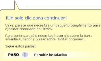 Panda Nanoscan ahora compatible con Firefox