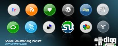 Iconos para aplicaciones web 2.0